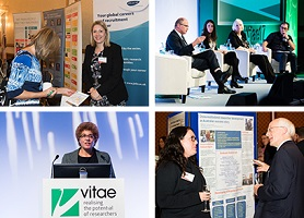 Collage of images from Vitae Conference 2017